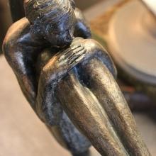 Atmosphère Déco Statuette bronze antique