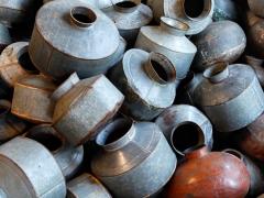 Atmosphère déco Pots zinc Inde