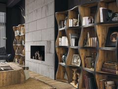 Atmosphère déco Dialma Brown bibliothèque tapis