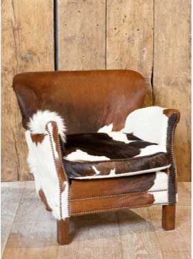 Fauteuil Chehoma Turner Vache