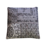 Coussin Patchwork ByBoo Noir