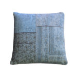 Coussin Patchwork ByBoo Turquoise