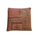 Coussin Patchwork ByBoo orange
