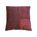 Coussin Patchwork ByBoo rouge