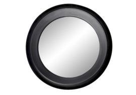 Miroir métal noir